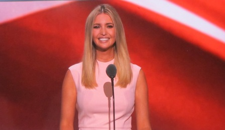 Ivanka Trump https://www.youtube.com/watch?v=0JdxeWyL8VU