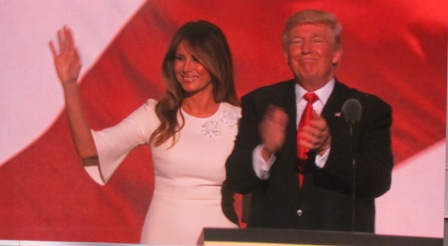 Donald Trump and his wife Melania https://www.youtube.com/watch?v=Jt_9yb4FSYA - MELANIA'S  FULL SPEECH
