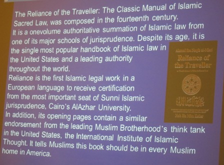 The Reliance of the Traveller:  The Classic manual of Islamic Sacred Law http://gatesofvienna.net/2015/05/addendum-to-the-reliance-of-the-traveler/