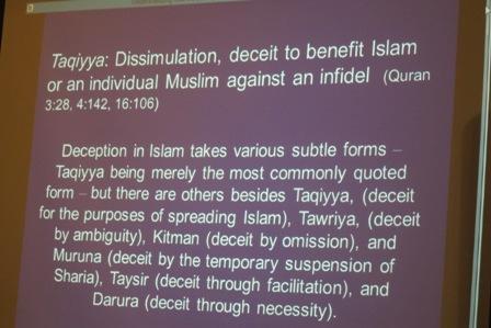 Taqiyya - Deceit to benefit Islam