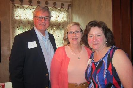 Matt and Linda Arnold and Martha Jenkins