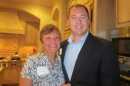 Cathy Wright and Wesley Seawell, candidate for the NC State House, District 54 (Chatham and Lee Counties)
