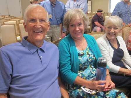 Don Hunter, Diane Roush and Marilyn Roush