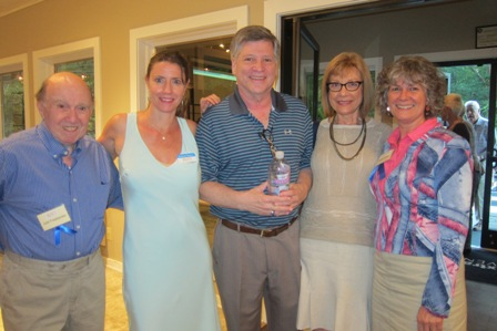 From the left:  Noel Freelander, Kimberly Rosario Sanchez, ICON board member, Larry Beckler, Marlene Waller and Kathy Arab, Friend of ICON