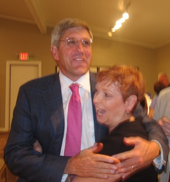 Old Friends !  Stephen Moore and Bonnie O'Neill