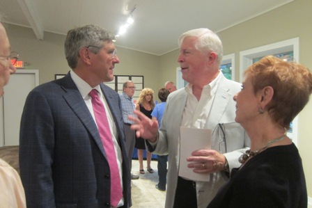 Stephen Moore and Bonnie and Seamus O'Neill