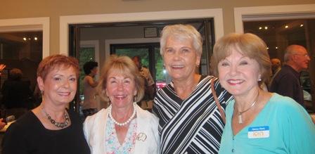 From the left:  Bonnie O'Neill, Gladys Kofalt, Rachel Orstad and Nancy Clark