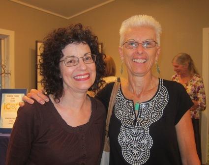 From the left:  Mary McKinney and Karen Macomson