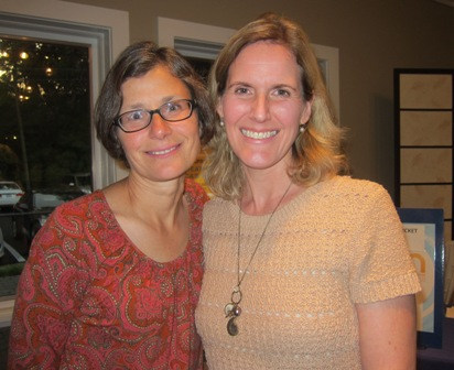 From the left:  Susan Amalong and Grete Yanke