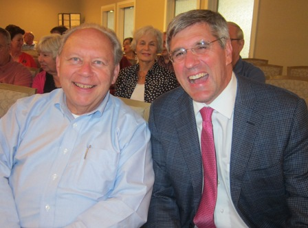 Stephen Moore and Phil Wolf