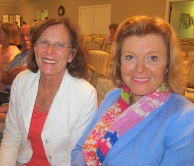 From the left:  Pamela Ransohoff and Cheri Hardman