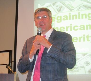 Stephen Moore, Guest Speaker