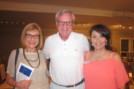 From the left:  Marlene Waller, Matt Arnold and Mary Lopez Carter
