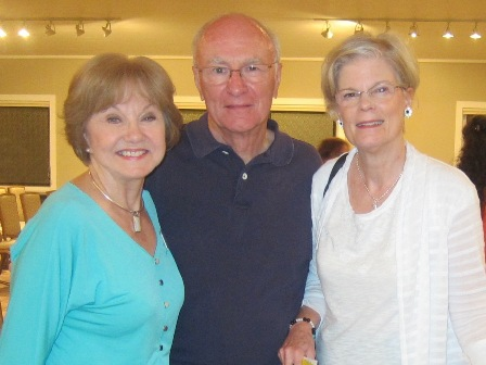 From the left:  Nancy Clark,  and Bob  and Mary Lou Drake