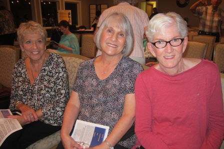 From the left:  Susan Berkowitz, Fran Mammolito and Margaret Fox
