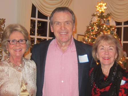 From the left:  Lynn Gschwind, and Jim and Gladys Kofalt