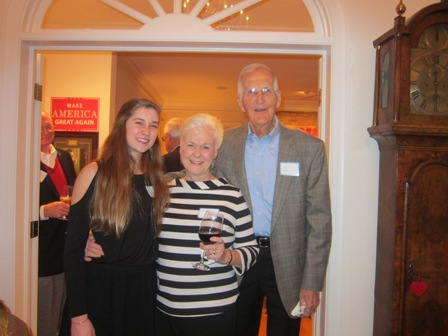 Dr. Brenda Hunter and her husband, Don Hunter and their granddaughter
