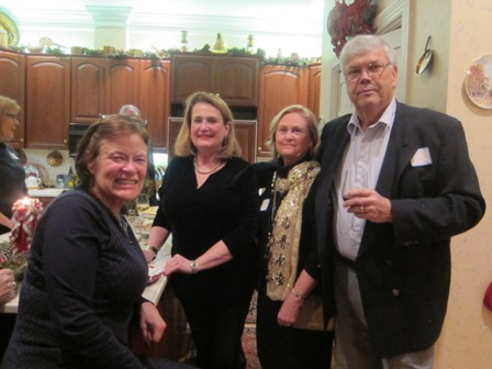 From the left:  Lee Green, Barbara D'Zan, Jane Hogan and Joe Taylor