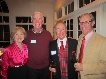 Nancy Clark, Terry Kane, Gus Kolias and Jerry Gschwind