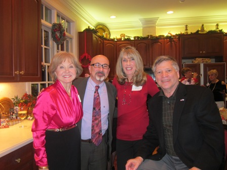Nancy Clark, Gadi Adelman, Karin Nemetz and Larry Beckler