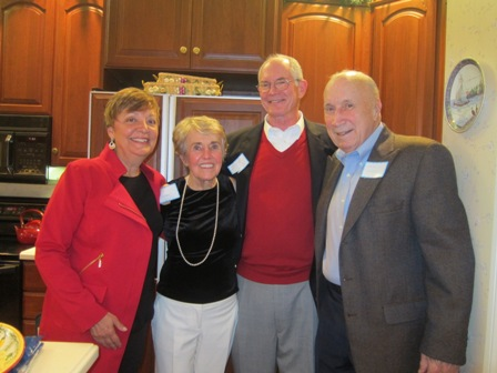 From the left:  Cathy Wright, Judy Bursiek, Dr. John Wright and Dave Bursiek