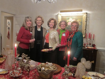From the left:  Karin Nemetz, Andrea Rock, ICON board member, Meg Gresham, ICON board member, Mary Lou Drake and Elizabeth Fisher